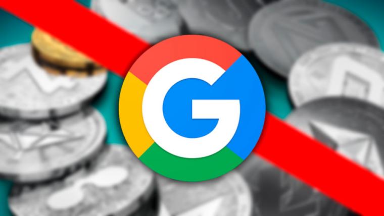 Летом интернет-гигант Google начнет блокировать рекламу связанную с ICO и криптваолютой